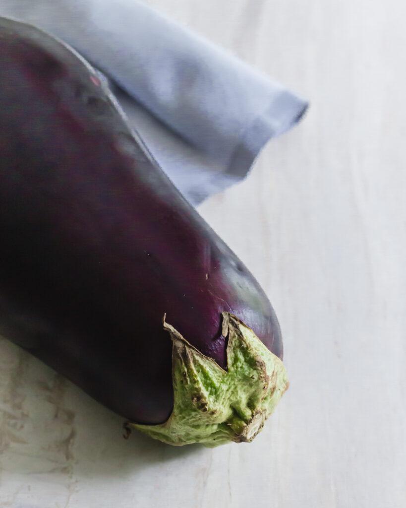 Large eggplant.